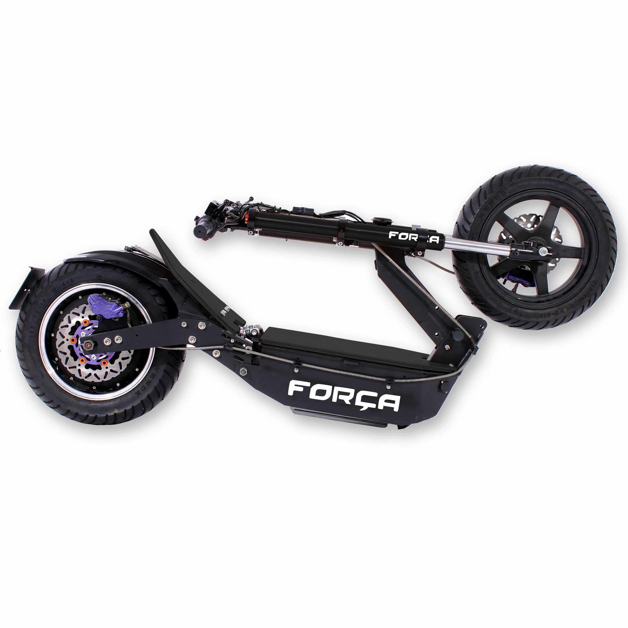 Forca Bossman XL E Scooter schwarz 03 - Bossman-XL