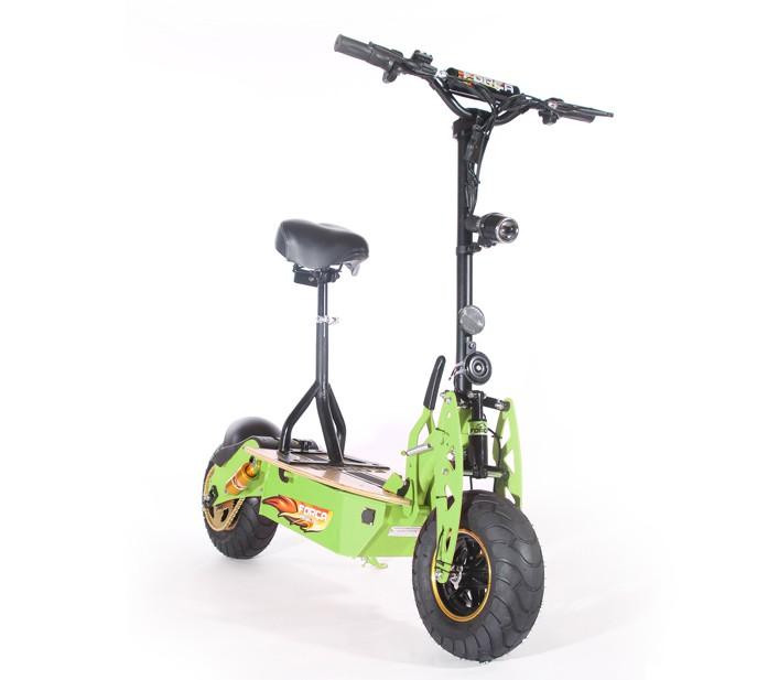 forca evoking iii 45km h scooter sonderlack gr n e scooter. Black Bedroom Furniture Sets. Home Design Ideas