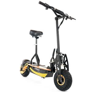 for a raceking ii 35 km h scooter black gold edition e. Black Bedroom Furniture Sets. Home Design Ideas