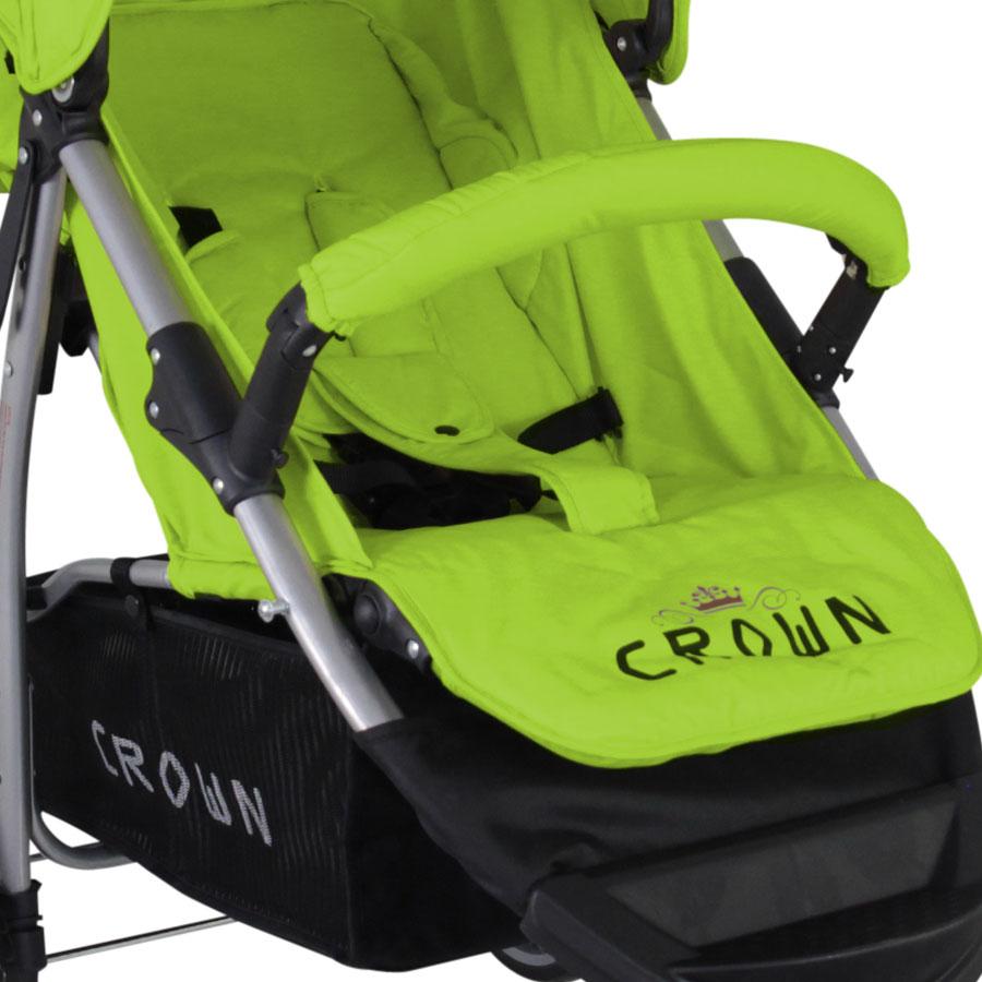 Crown JOGGER verstellbarer Schiebegriff Kinderwagen Kinderbuggy Sportwagen Buggy