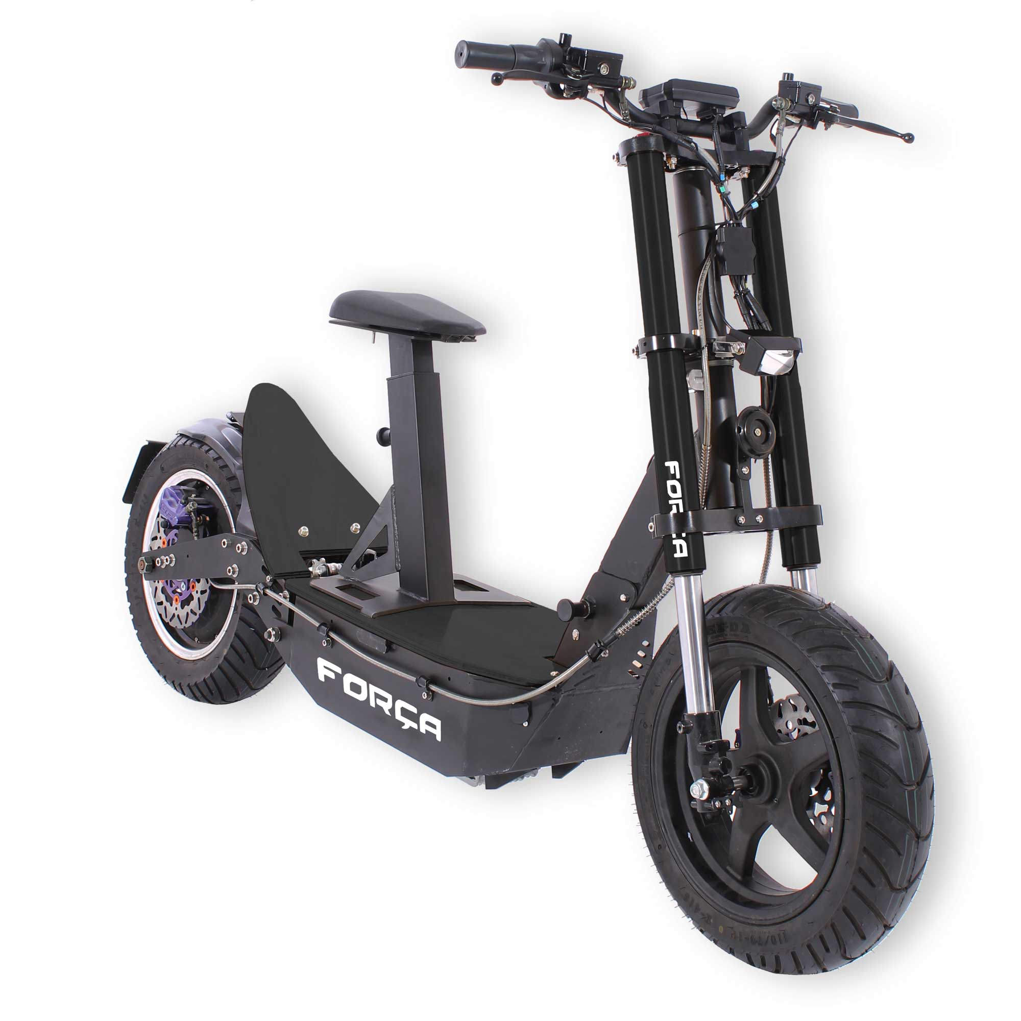 forca bossman xl big wheel  scooter mit   watt