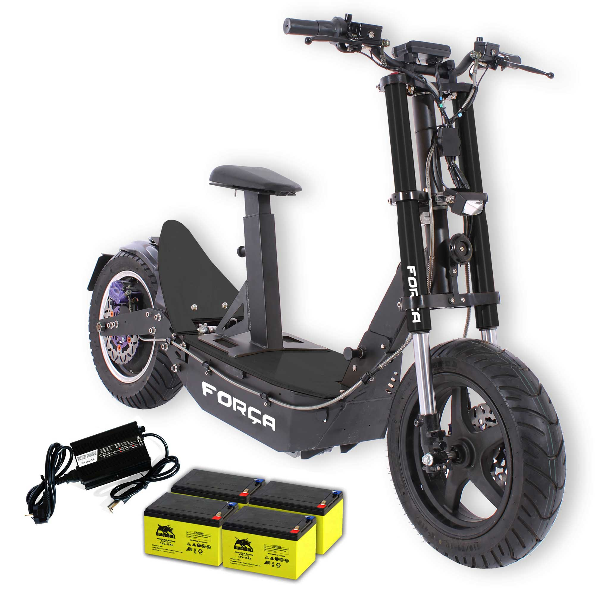for a bossman xl big wheel e scooter mit 48v 1500 watt. Black Bedroom Furniture Sets. Home Design Ideas